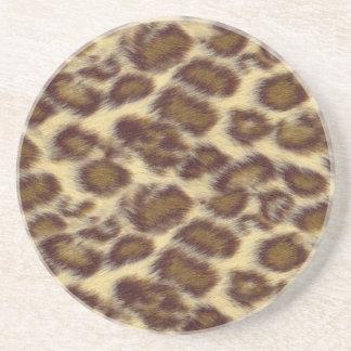 Leopard Sandstein Untersetzer