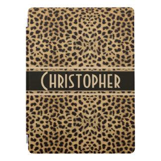 Leopard-Stellen-Haut-Entwurfs-Druck personalisiert iPad Pro Cover