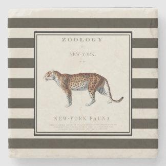 Leopard-Untersetzer, Leoparddruck, Steinuntersetzer