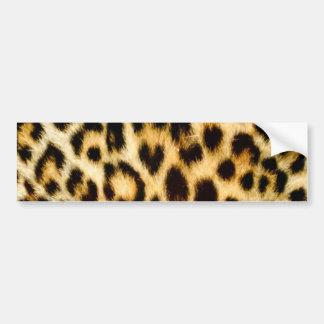 Leoparddruck Autoaufkleber