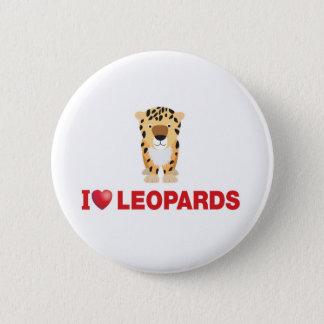 Leoparden der Liebe I Runder Button 5,1 Cm