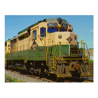 Leseeisenbahn GP-30 #3601 Postkarte