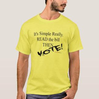 Lesen Sie die Rechnung! T-Shirt