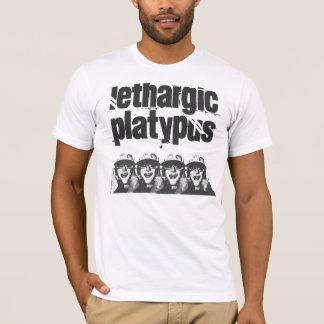 Lethargisches Platypus 4 Köpfe T-Shirt