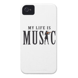 let's make music female violin player Case-Mate iPhone 4 hülle