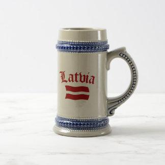 Lettland Bierglas