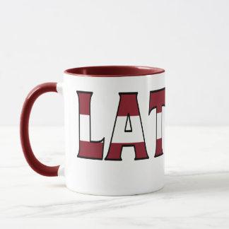 Lettland-Kaffeetasse Tasse
