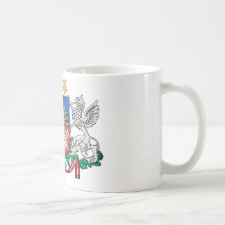 Lettland-Wappen Kaffeetasse