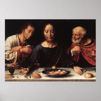 Letztes Abendessen-Plakat Jesuss Poster