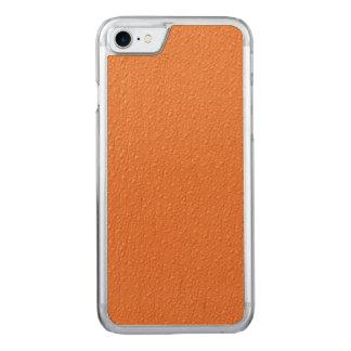Leuchtorange-modische Neonfarben Carved iPhone 8/7 Hülle