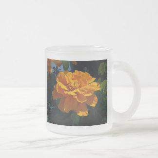 Leuchtorange-Ringelblume Mattglastasse