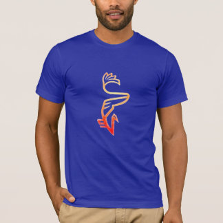 Leuchtorange Vanberd T-Shirt