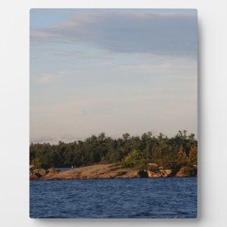 Leuchtturm auf Masse-Insel Fotoplatte