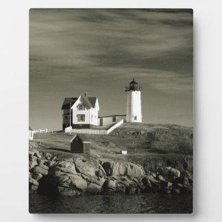 Leuchtturm in Maine Fotoplatte