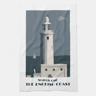 Leuchtturm teatowel handtuch