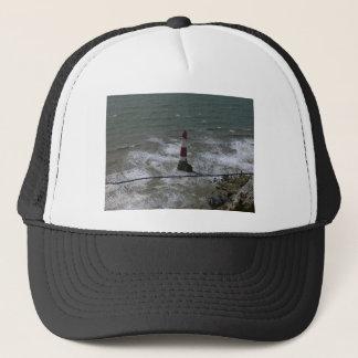 Leuchtturm weg vom Beachy Kopf, Ostsussex Truckerkappe