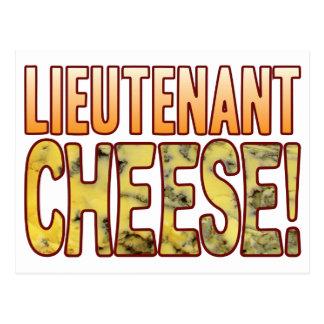 Leutnant Blauschimmelkäse Postkarte