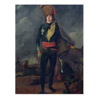 Leutnant der 8. Hussars Postkarte