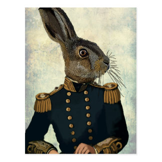 Leutnant Hare 2 Postkarte