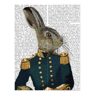 Leutnant Hare Postkarte