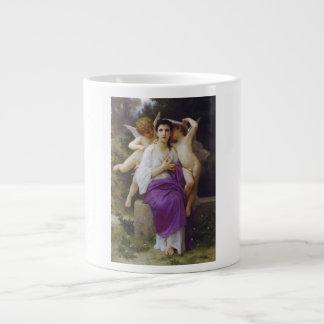 Leveil Herz durch William-Adolphe Bouguereau Jumbo-Mug