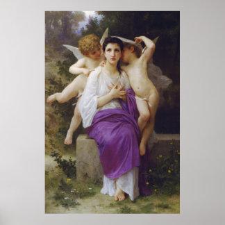 Leveil Herz durch William-Adolphe Bouguereau Poster