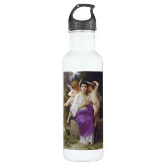 Leveil Herz durch William-Adolphe Bouguereau Trinkflaschen