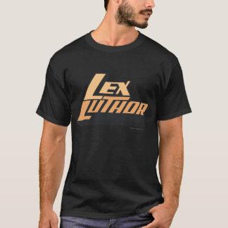 Lex Luther - zwei Linien T-Shirt