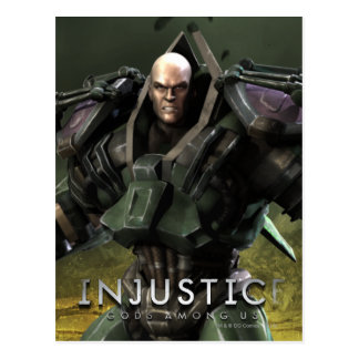 Lex Luthor Postkarte