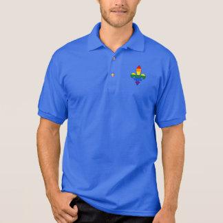 LGBT Stolz-Lilie Polo-Shirt Polo Shirt