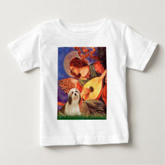 Lhasa Apso 4 - Mandolinen-Engel Baby T-shirt