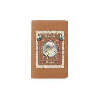 Libelle - Illusions-Notizbuch-Moleskin-Abdeckung Moleskine Taschennotizbuch