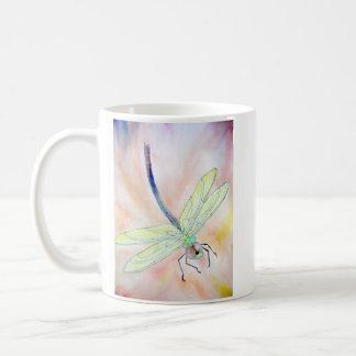 Libellen-Tasse: Fliege gut, helles! Kaffeetasse