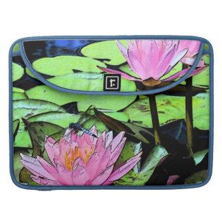 Libellen-Wasserlilie MacBook Prohülse Sleeves Für MacBooks