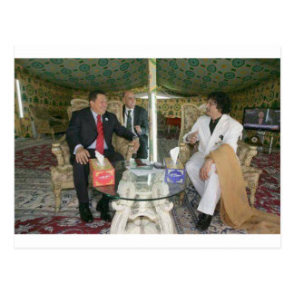 Libyen ~ Gaddafi für immer Postkarte