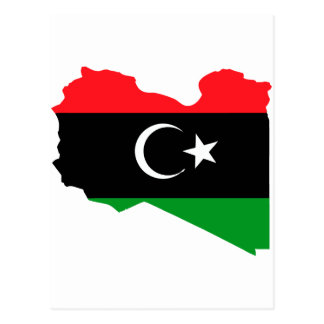 Libyen Postkarte