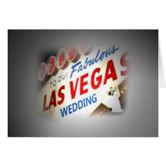 """Lichter auf der """"Braut u. pflegen"""" unsere Hochzeit Karte"""
