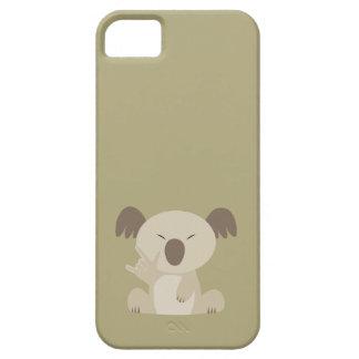 Liebe ASL I Sie Koala-Gewohnheits-Fall iPhone 5 Schutzhüllen