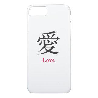 Liebe auf Chinesen iPhone 8/7 Hülle