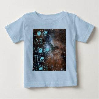 Liebe bewegt Säuglings-Shirt Baby T-shirt