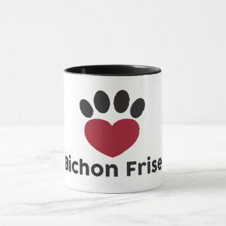 Liebe Bichon Frise Tasse