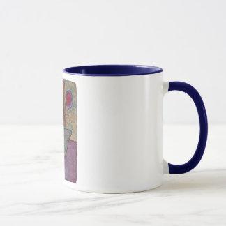 Liebe-Boot, Segel mit der Herz-Tasse Tasse