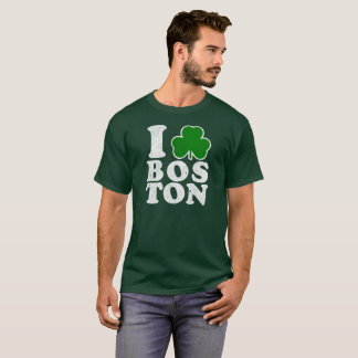Liebe-Bostons des St. Patricks Day-I Vintager T - T-Shirt