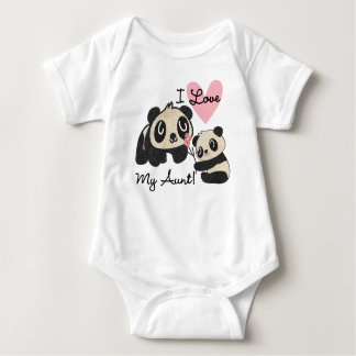 Liebe der Panda-I meine Tante Babybody