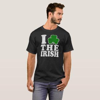 Liebe des St. Patricks Day-I das irische Vintage T-Shirt
