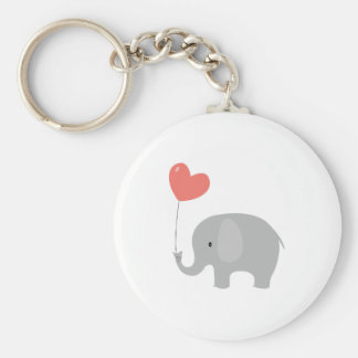 Liebe-Elefant Schlüsselanhänger