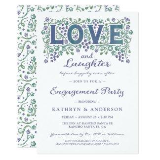 Liebe entwirrte Verlobungs-Party Einladung