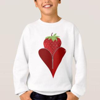 Liebe-Erdbeere Sweatshirt