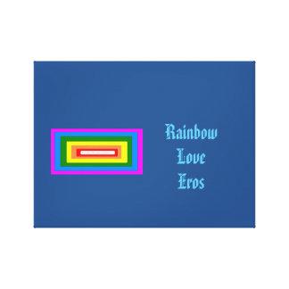 Liebe-Eros Leinwand Druck