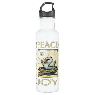 Liebe, Frieden, Hoffnung, Freude Trinkflaschen